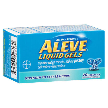 Picture of Aleve Pain Reliever/Fever Reducer Liquid Gels 40.0ea