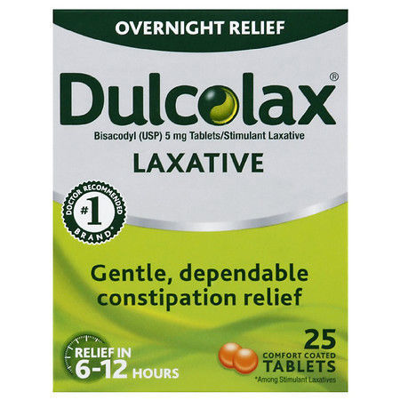 Picture of Dulcolax Laxative Tablets 25.0ea