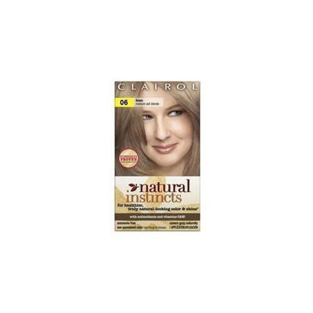 Picture of Clairol Natural Instincts Non-Permanent Hair Color - 8A/6 Linen Medium Cool Blonde - 1 kit, Medium Cool Blonde-06